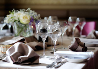 PurpleTableSetting
